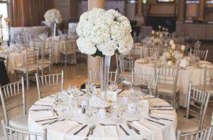 table d'honneur d'un mariage